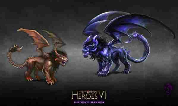 英雄无敌6地牢生物之蝎狮介绍 英雄无敌3凯瑟瑞